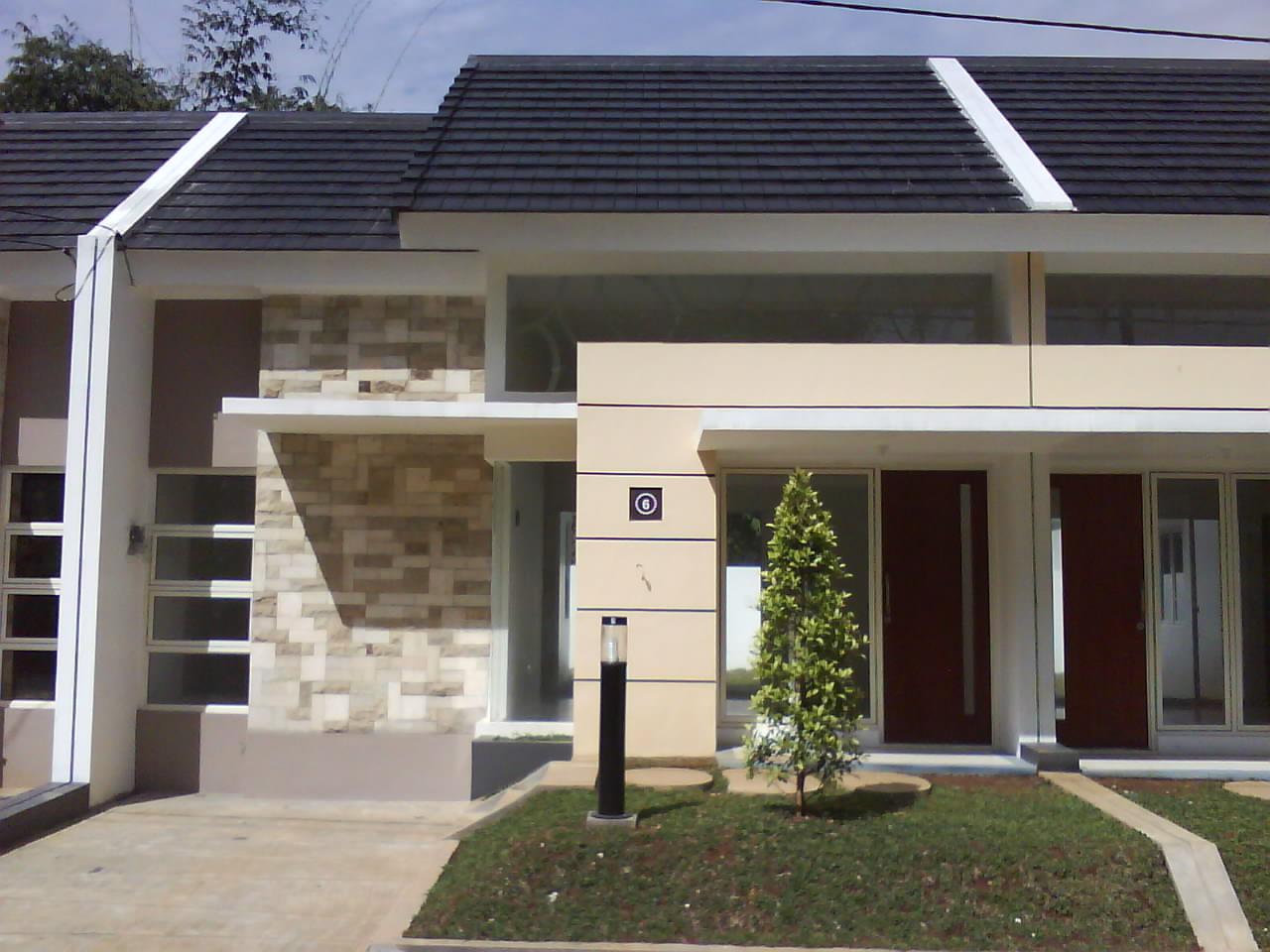 Rumah  Minimalis  Green Desain